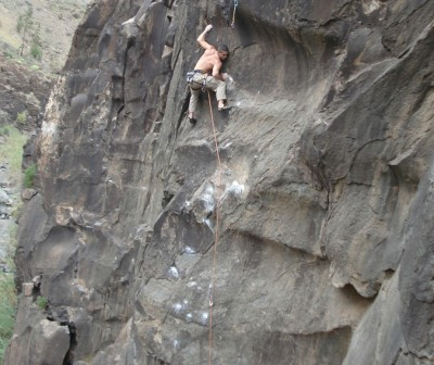 chicharrero climbing