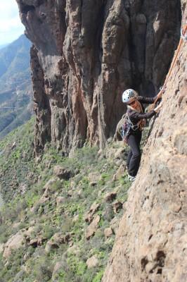 Todos podemos escalar en Ayacata con el equipo correcto