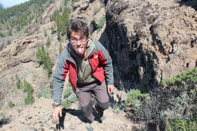 Easiest route in Pico de las Nieves