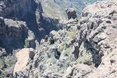 Nicest scenary in Gran Canaria peaks