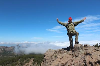 Climb pico de Las Nieves