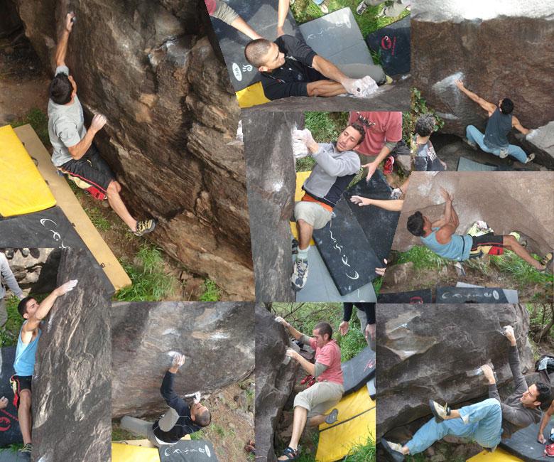 boulder problems in gran canaria