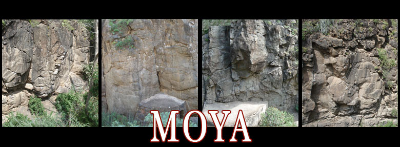 moya topos, croquis, mapas and maps, climbing in Moya