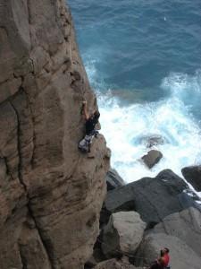 Climb in Costa Ayala