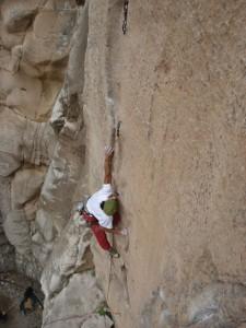 Climb in el Cenobio